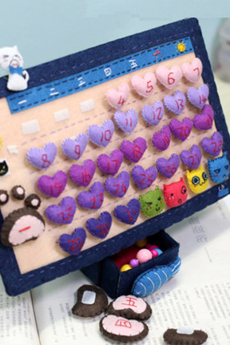 手工diy材料包制作创意玩具免裁剪不织布手工布艺
