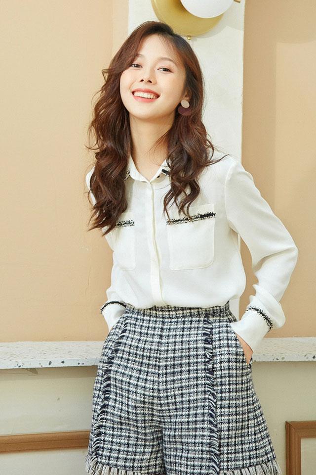 白色雪纺上衣女2020春装新款韩版气质小香风宽松百搭长袖衬衫