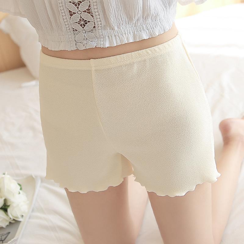 防走光安全裤可外穿三分打底裤女内穿宽松短裤子夏天薄款保险裤