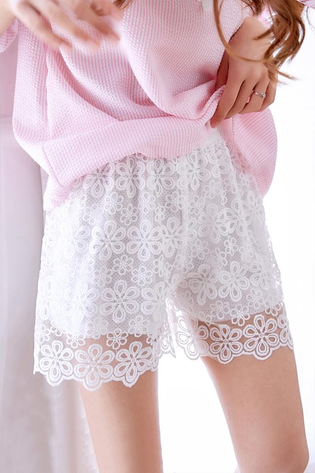 安全裤防走光女夏季薄蕾丝花边白色保险裤外穿黑色打底裤大码宽松
