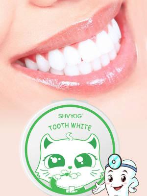 【小茉莉丫】舒友阁牙粉50g牙齿亮白清新口气去烟渍黑黄牙烟牙