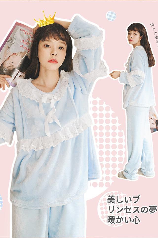 【清仓】孕妇装冬装时尚月子服孕妇睡衣孕妇套装加绒怀孕哺乳衣
