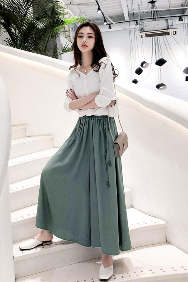 阔腿裤套装女春夏新款宽松时髦两件套九分裤洋气休闲时尚套装