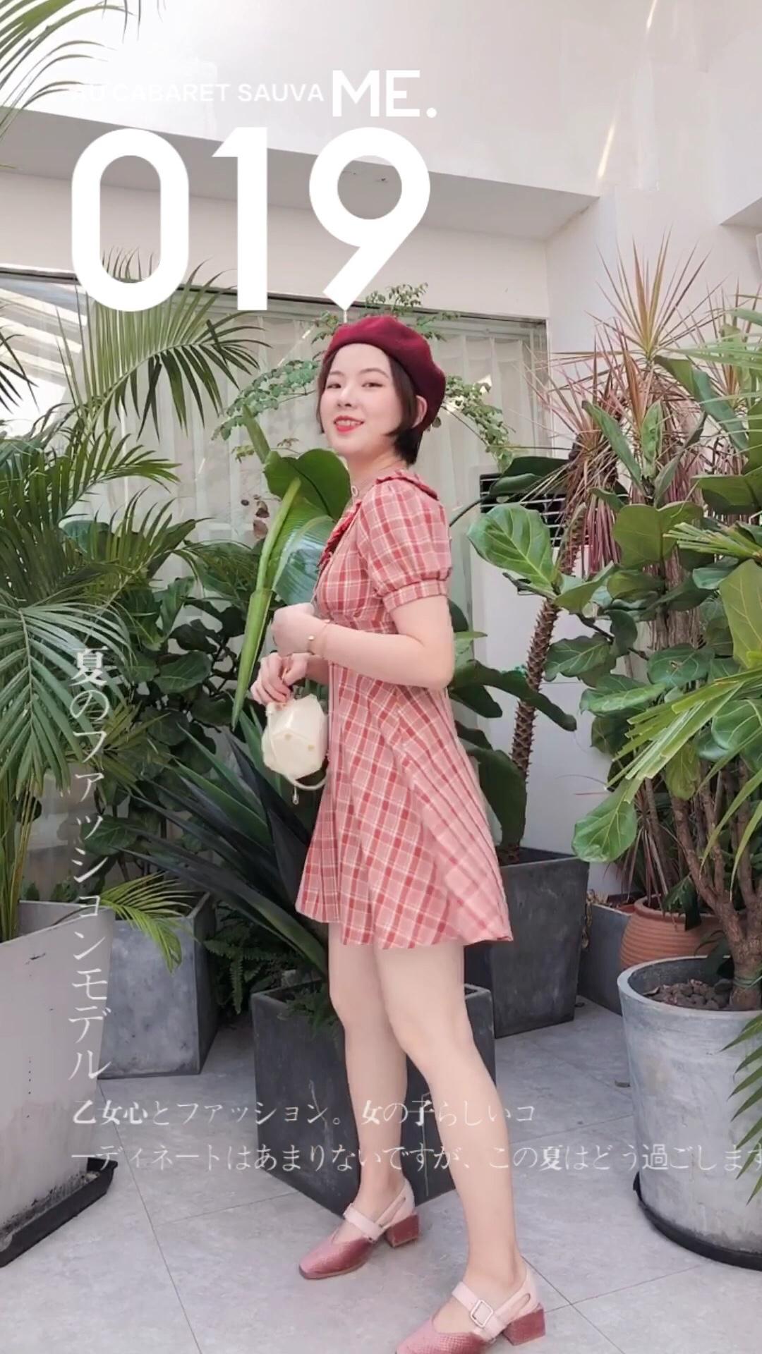 #微胖梨形妹,帮你一遮到位!#  梨形女孩一定要选伞裙哦~ 如果腰细的话,要选收腰款 把你的优点露出来 伞裙可以很好的遮住PP和大腿的肉肉哦!