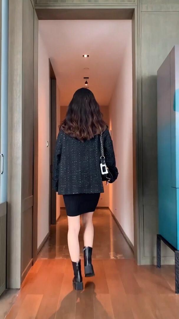 #毛衣x裙子,入秋好cp~#