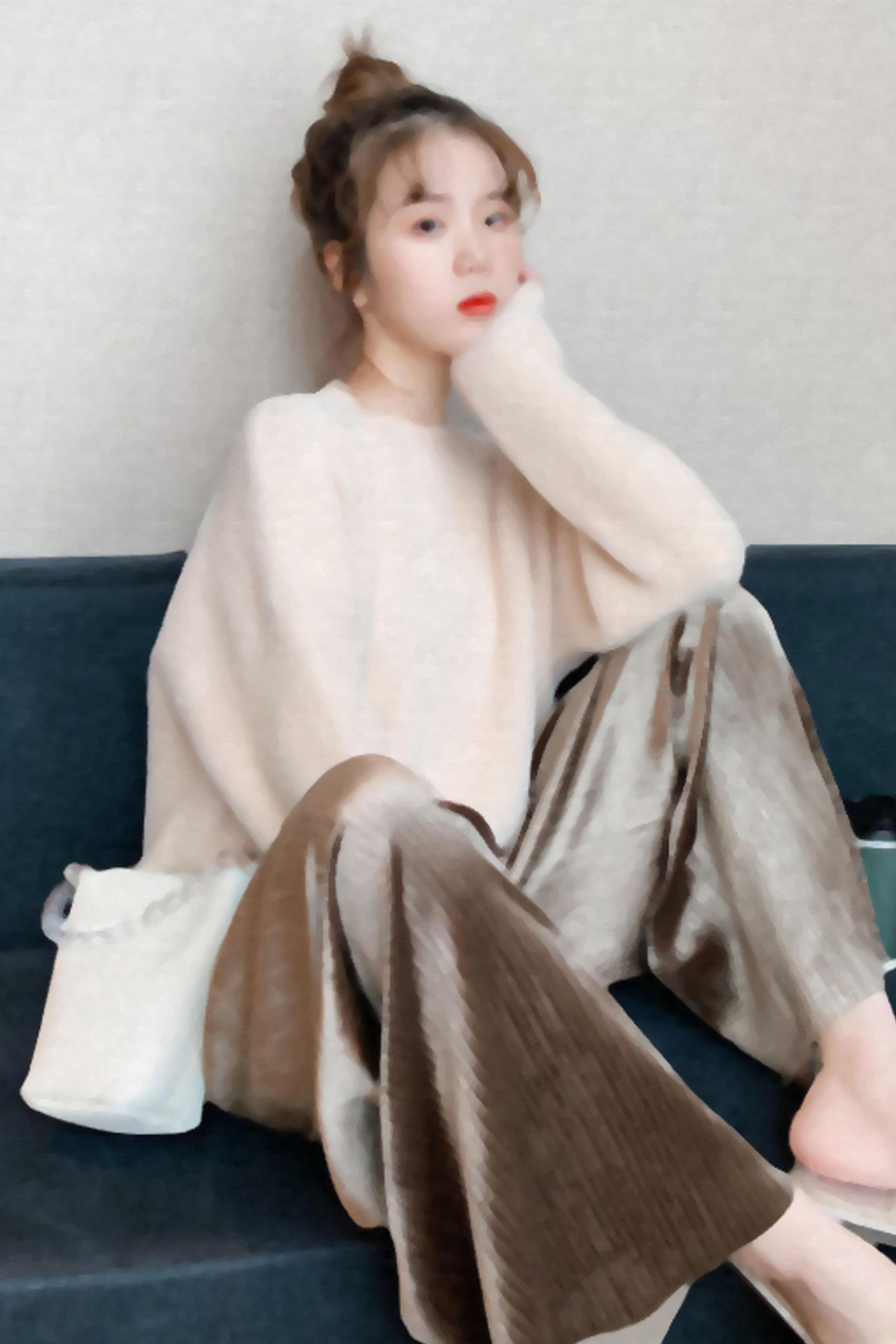毛衣女宽松显瘦外穿套头慵懒风韩版秋冬新款时尚针织衫洋气上衣潮