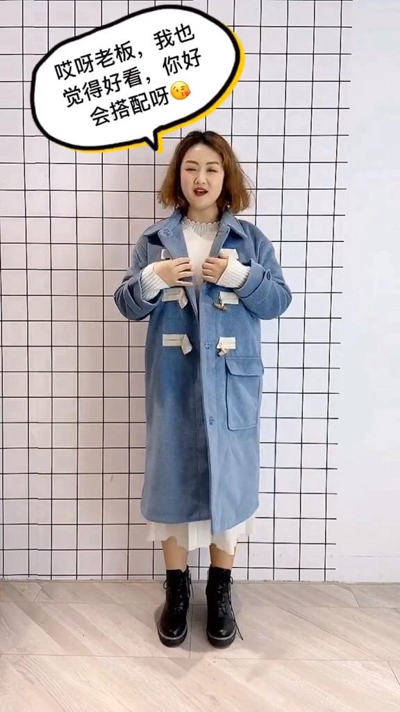#双十一必备爆款清单出炉!#  天呐,这件打底针织连衣裙也太美了吧!'OMG'微胖女生的首选遮肉显瘦又可以搭配大衣外套