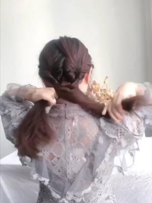 发型教程|让人怦然心动的温柔发型 #冬日约会穿搭,一眼就惊艳!#