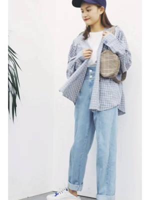 #150cm+进!冬季显高有口诀# 身材 155 40 衣服 衬衣 牛仔裤 风格 休闲 舒适 适合 各种人群