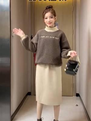春节回家拜年衣服应该怎么穿呢#1分钟女明星妆容速成,包教包会!#