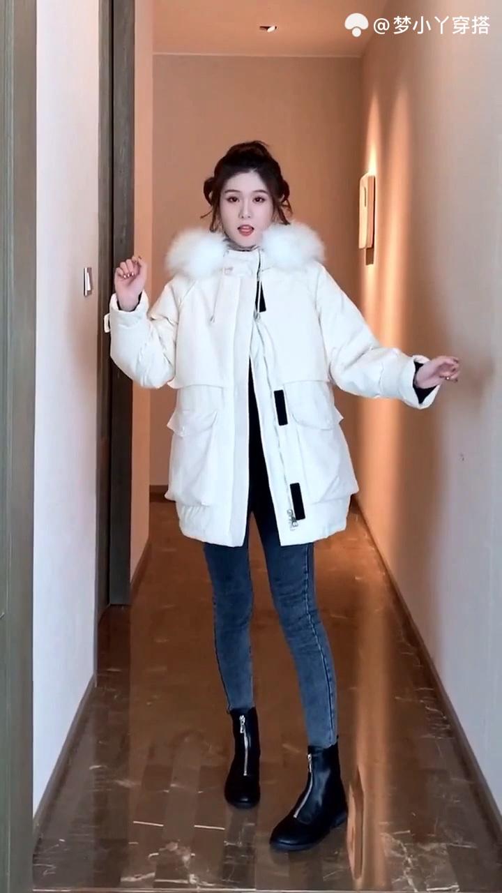 #大降温!穿暖气般温暖的毛衣#外套如何搭配