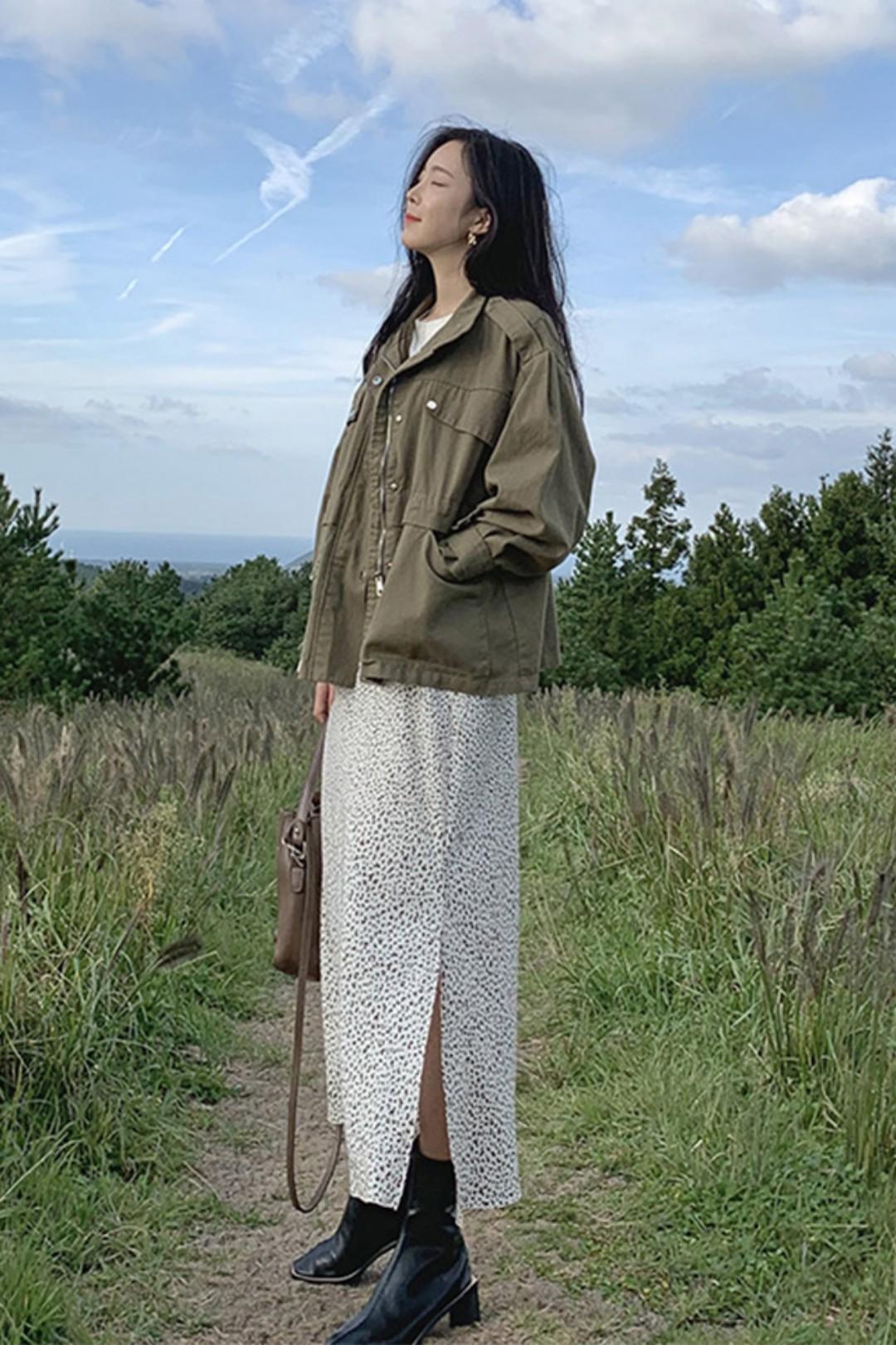 #备战双十二!这些外套必囤!#트렌드 패셔니스타 그린 코트