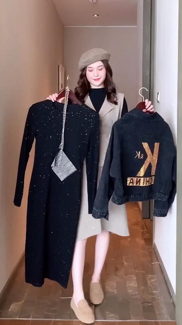 #12月第一件外套买这件!# 评论出你的身高体重教你穿搭哦