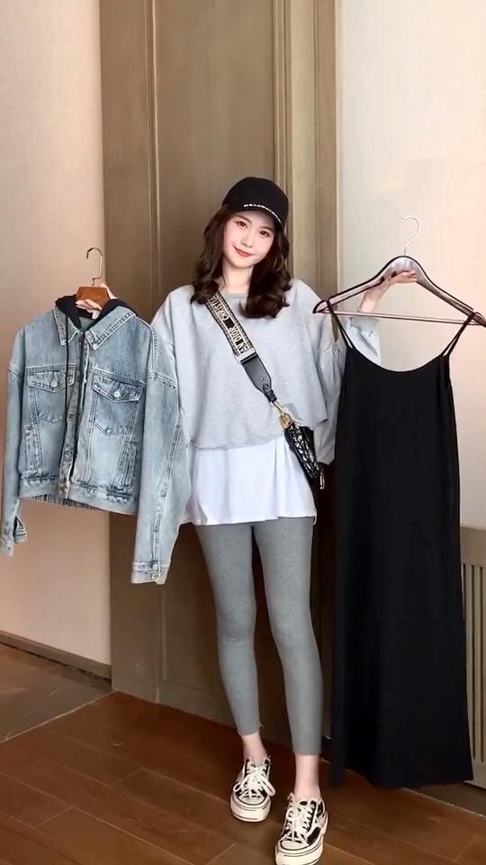 """#2019最流行""""奶奶裤"""",穿它!#get高领毛衣的一百种搭配#"""