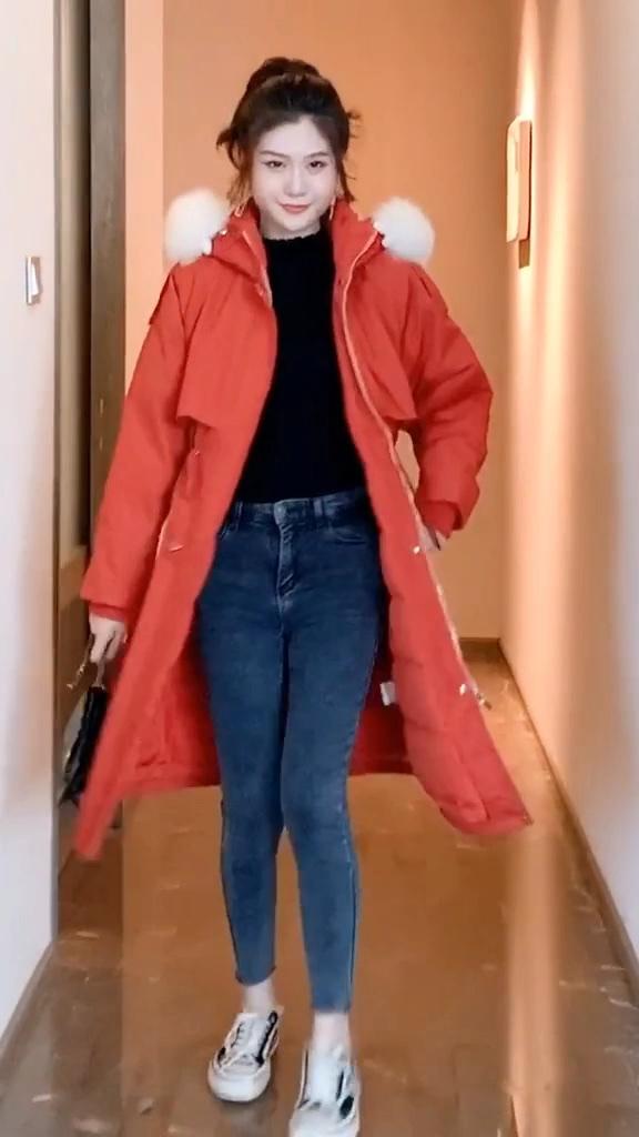 #跨年穿上这件大衣,赢了!#