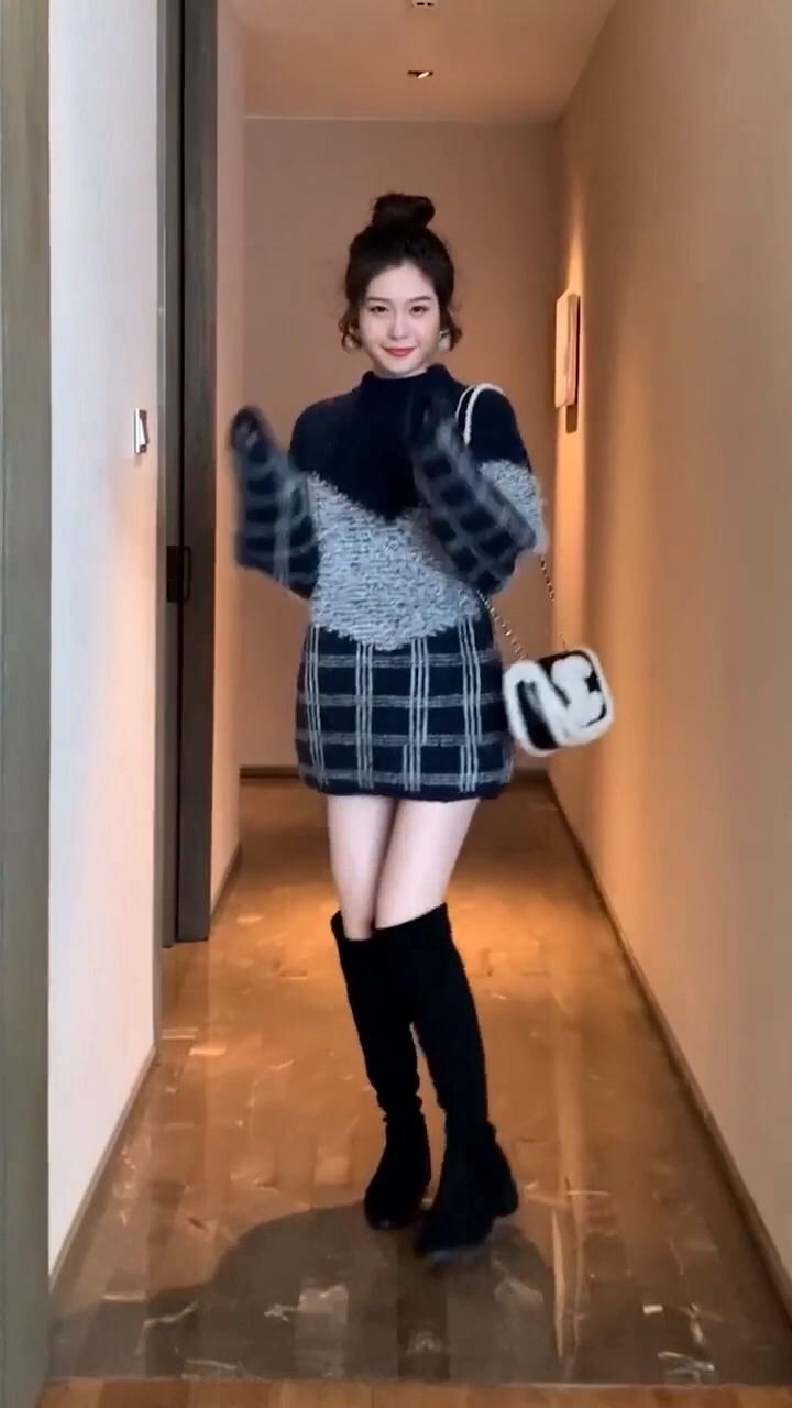 #年末毛衣总结:划重点了!#360度保暖抢眼的大毛领爱了#