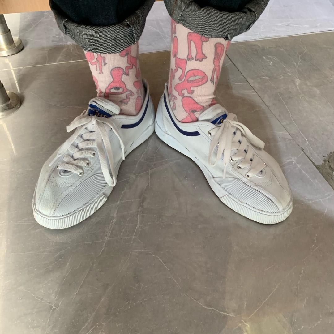 #什么值得买# 超喜欢这种恶趣味的袜子~