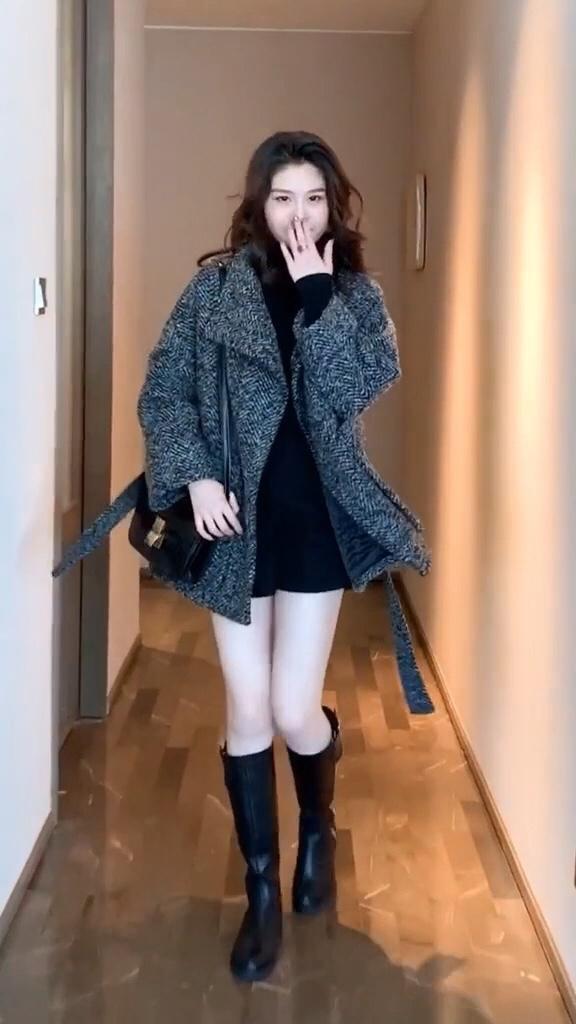 不会穿搭?这些衣服都是给你搭配好的#我最爱的冬日穿搭cp#