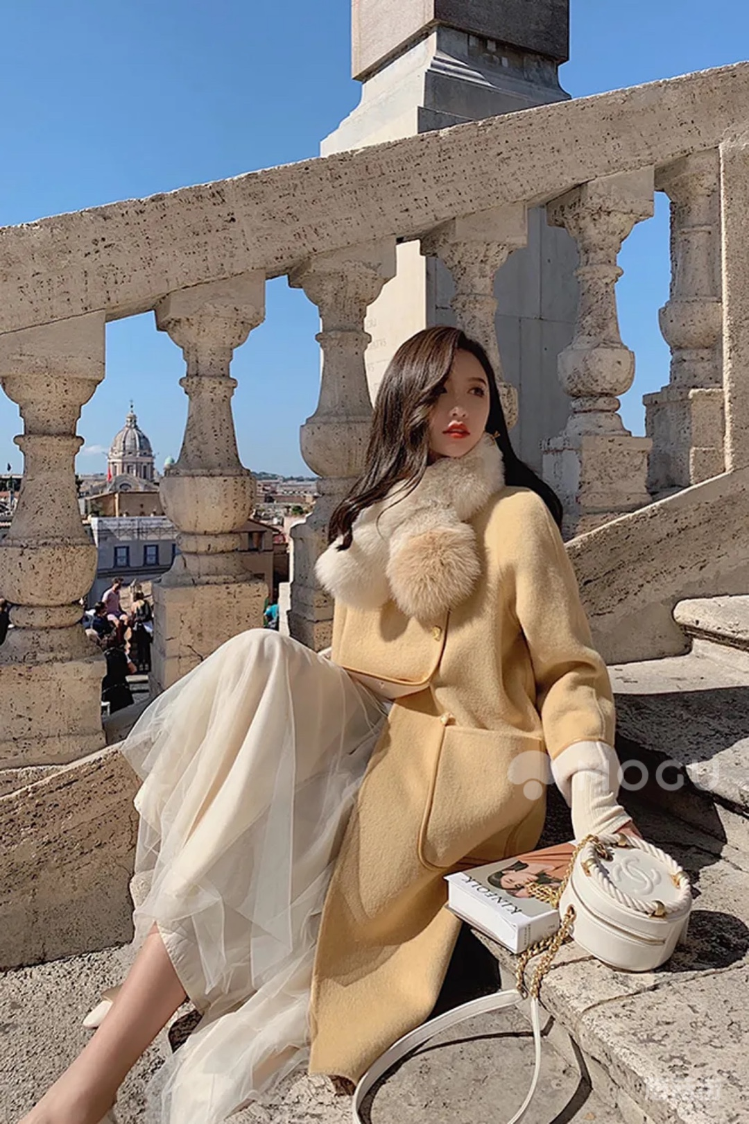 一件你必须拥有民国风毛呢大衣#什么值得买#