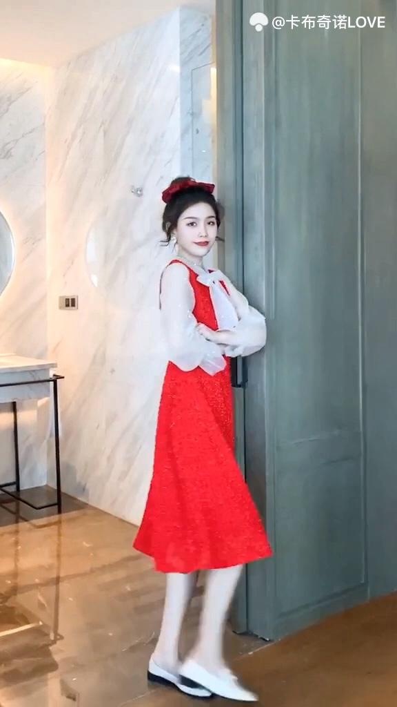 过年没有小裙子的女生这样穿应对所有场合 #2020入手的第一件新衣#