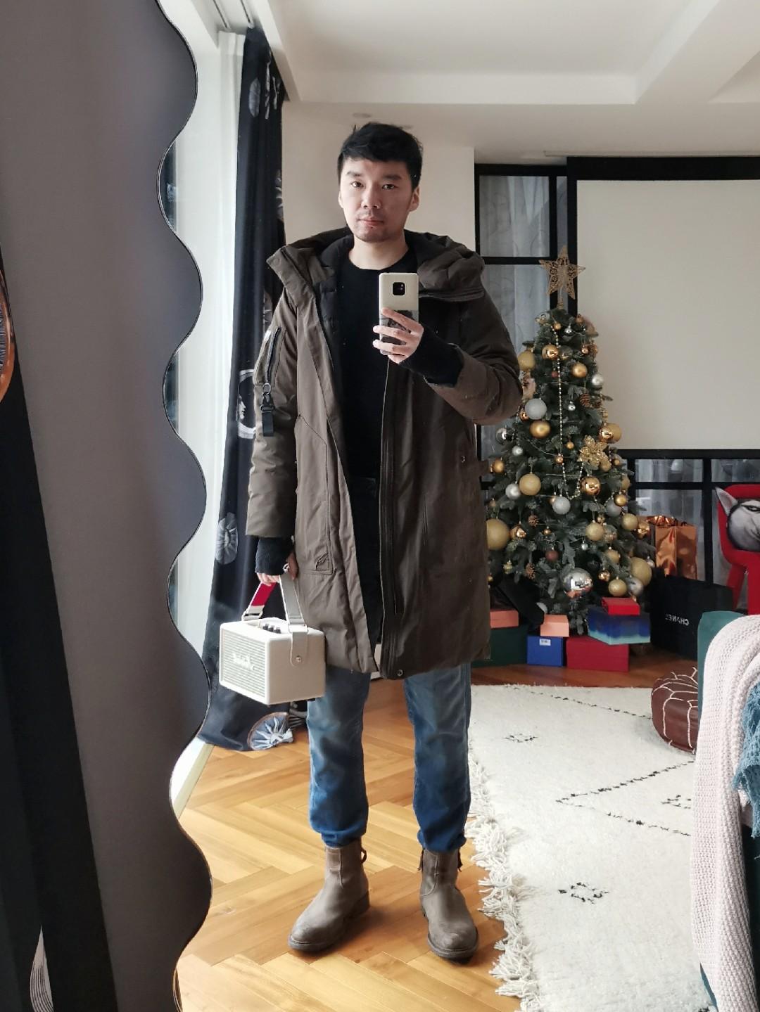 杭州小雨,天不太冷。挑战打卡100天-DAY47。 #OOTD#