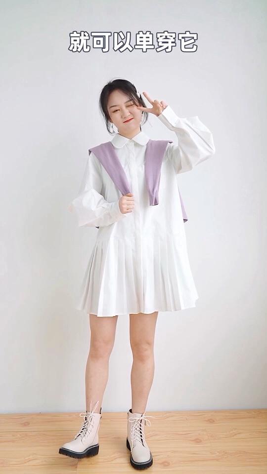 春季少女必备连衣裙👏 单穿内搭都好看👀 #30天打卡挑战#