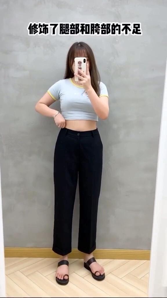 有没有和我一样的胯宽女生,选裤子真的太难了!初春穿搭 #全民搭配挑战赛#