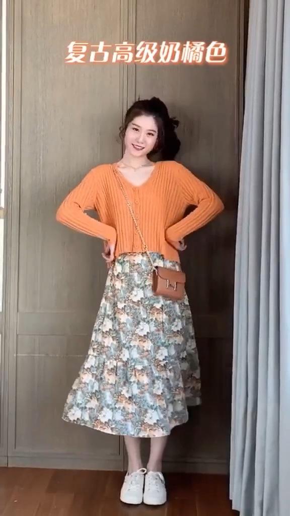 春天没有一件碎花裙的女生,这里都是整套搭配好滴~我就不信没有一件你喜欢的。 #最爱穿碎花#