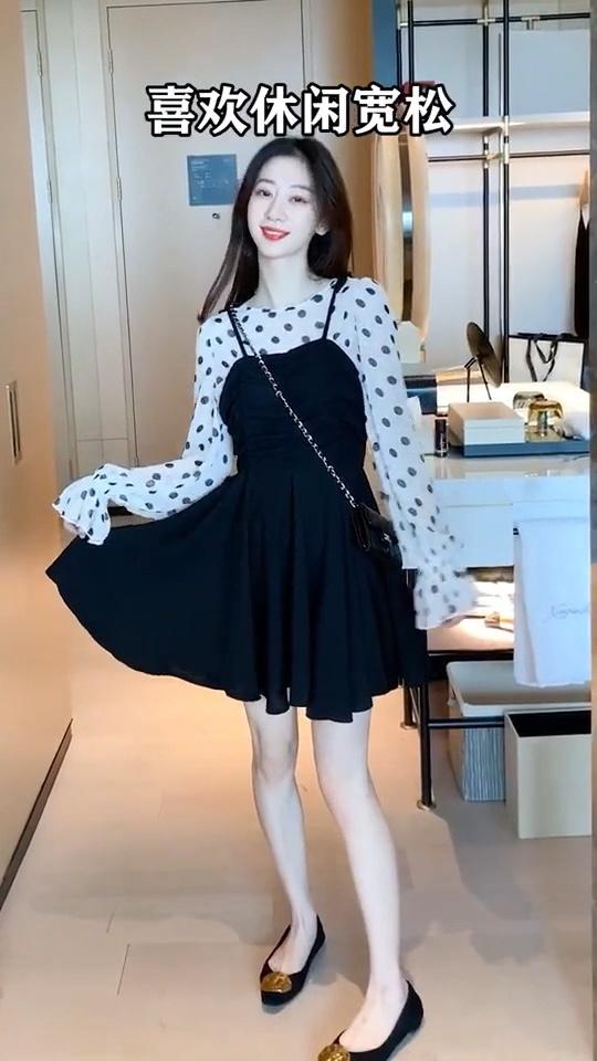 女生网上买衣服搜索词很重要…… #一周穿搭不重样#