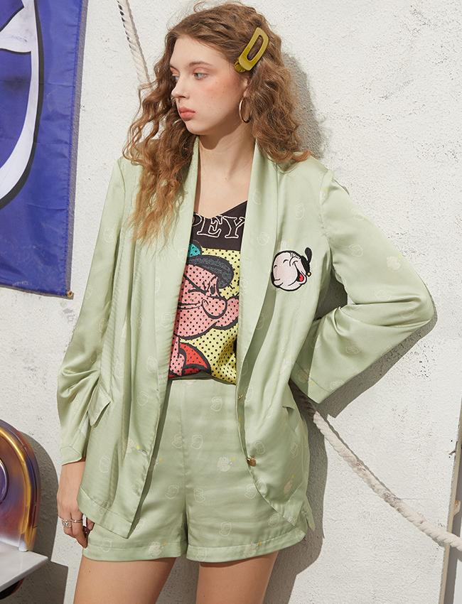 水手联名款妖精的口袋西装两件套装2020秋夏新款女裤子01