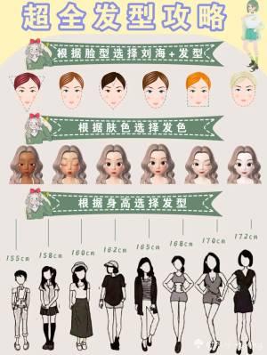 超全发型攻略!根据肤色脸型身高选发型❣️  发型真的可以影响一个人气质,选对发型可以提升颜值,选错发型会毁颜值今天为小仙女们整理了根据不同脸型、身高和肤色选择刘海、发型和发色 女生必看变美干货 自律的女孩最可爱 跟我一起变美吧❤️