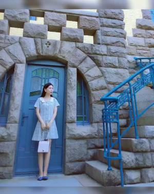 闲逛到这个古墅,市中心竟有这么美的老建筑 #我的夏日小裙子#