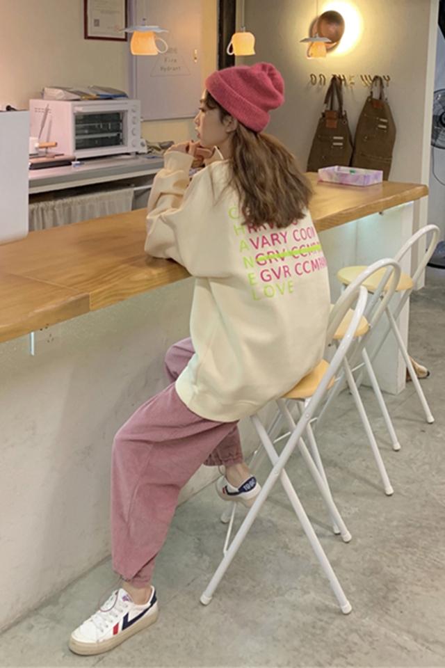 炸街时尚套装女秋冬小个子卫衣女搭配显高休闲减龄显瘦两件套洋气