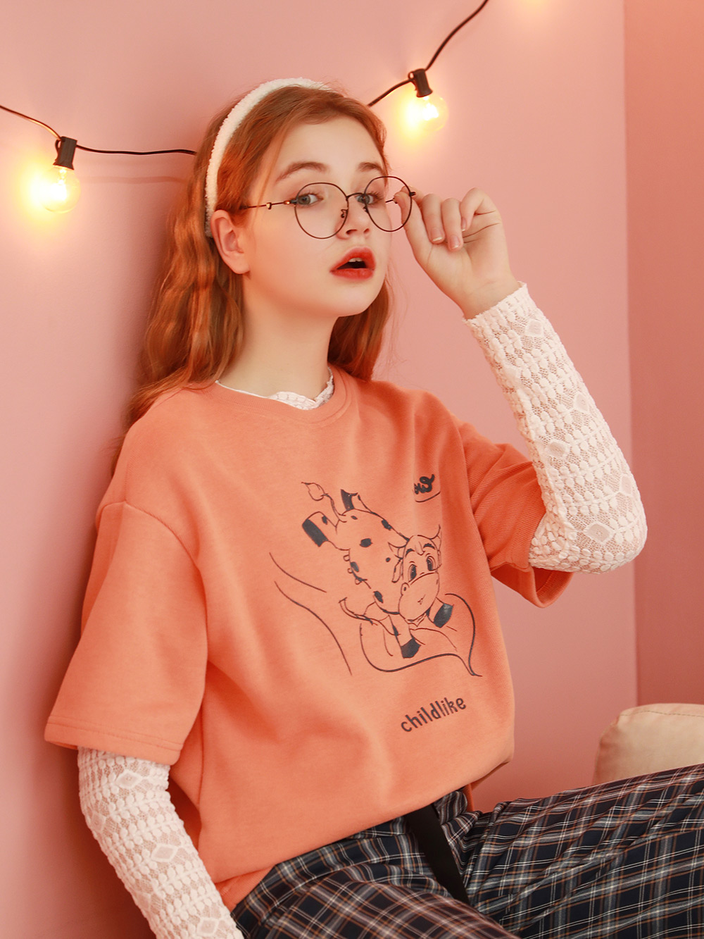韩版宽松少女短袖T恤女夏2021年新款半袖洋气上衣情侣装体桖