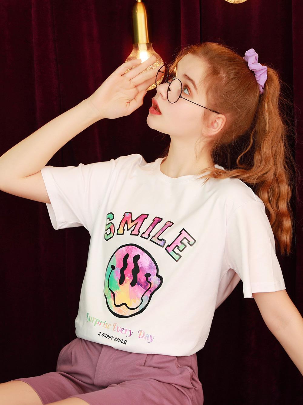 白色t恤女2021年新款宽松韩版设计感洋气短袖上衣半袖体桖