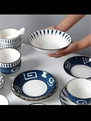 好漂亮的碗,很喜欢噢,盘子不大不小,正适合一餐的量 #小甜心_呢粉丝晒单#