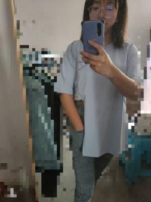 这个衣服不是特别喜欢,边上太短了。然后链条设计不好,领子会跨 #LuLu_林粉丝晒单#