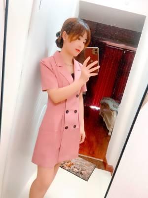 面料好,不厚,夏天穿也不会热,显身材 #诺风N馨馨alzx粉丝晒单#