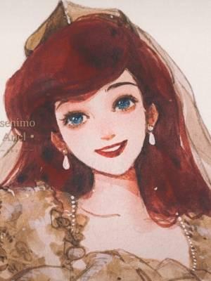 都说我的发色像在逃公主 👸 模仿一个