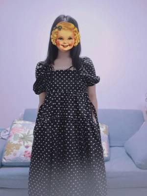 裙子很漂亮,是我喜歡的風格,收到貨感覺有一點小貴,上身還是很漂亮的,裙子是有口袋的哦~我微胖,胳膊那會有點緊不太舒服,其他還好,給各位姐妹一個參考。 #JIENILU粉絲曬單#
