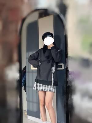 卫衣好看的耶~~蝴蝶结满满设计感~~~~~🉑️ #冉冉Rran粉丝晒单#