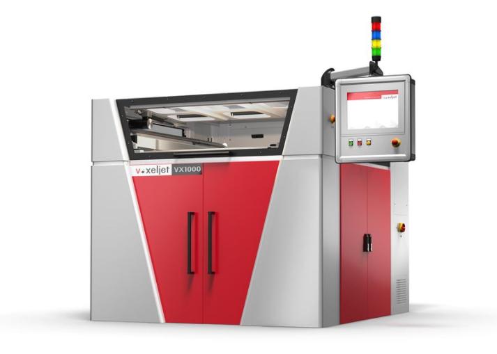 赢创与Voxeljet合作,开发下一代粘合剂喷射3D打印材料系统